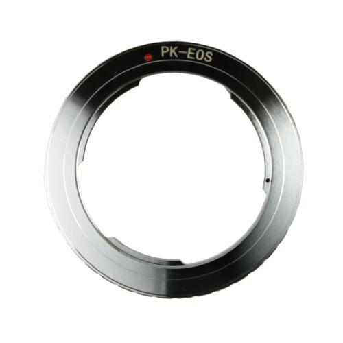 Pentax PK K Lens to Canon EOS EF Mount Adapter Ring 50D 600D 1000D 1100D 550D 7D