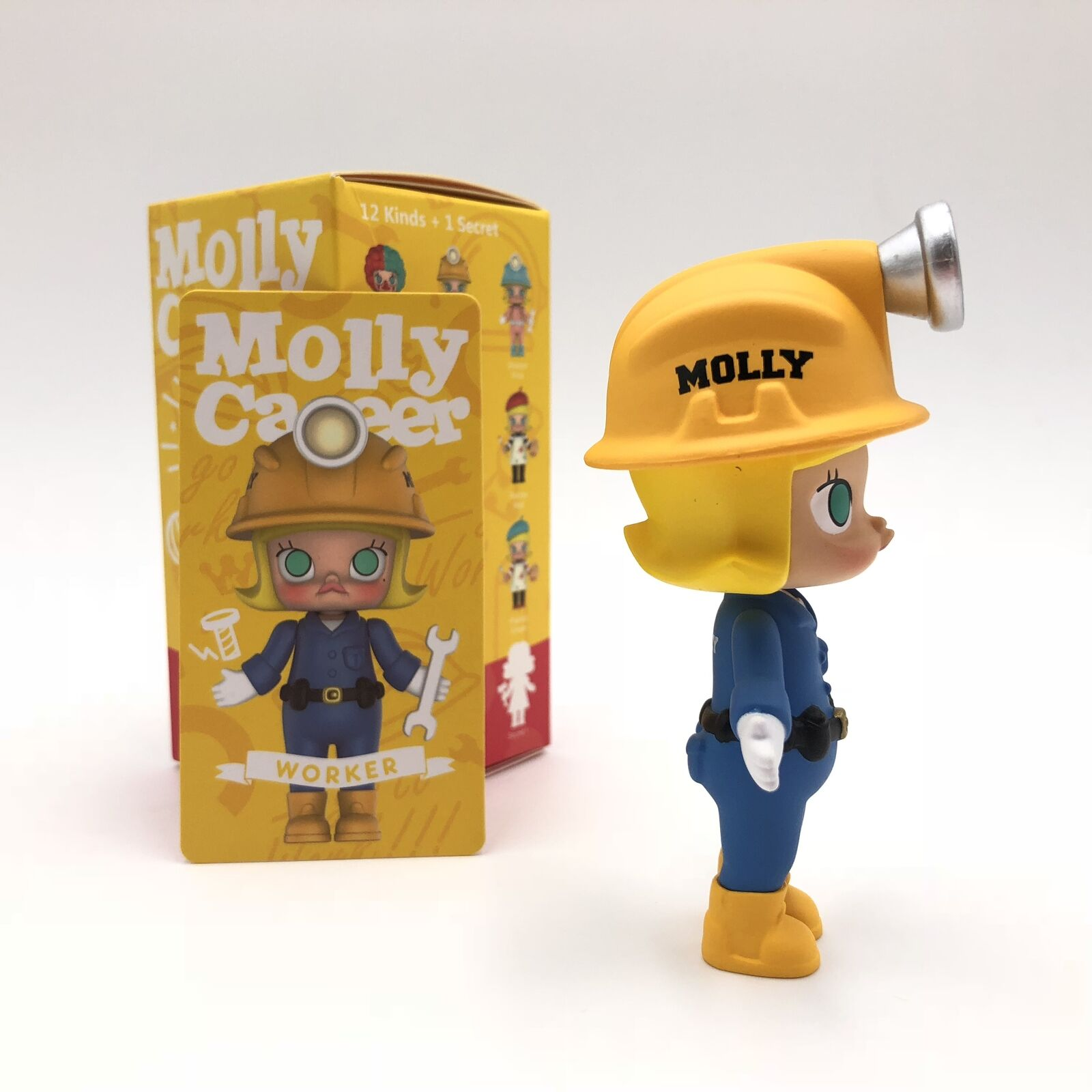 POP MART KENNYSWORK Molly Career Mini Figure Designer Toy Art Figurine Astronaut