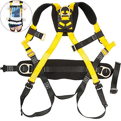 Safety Harness Construction Harness Full Body W3 D-ring Fall Protection Unisex