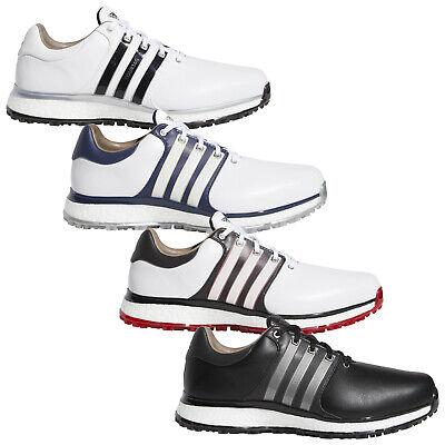 2020 Adidas Mens Tour360 XT-SL Spikeless Boost Golf Shoes Waterproof Leather