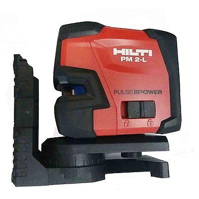 Hilti Laser Level Pm 2-l Line Laser With Magnetic Shaped L-shaped Bracket