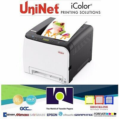 Uninet Icolor 350 A4letter Size Toner-based Dye Sublimation Transfer Printer