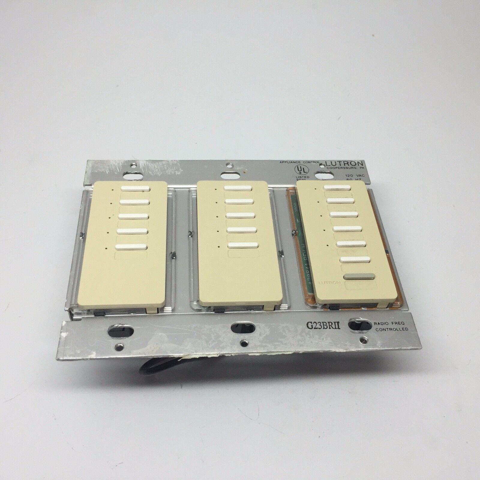 Lutron RadioRA RAMC-15W 15 Button Master Control - Ivory