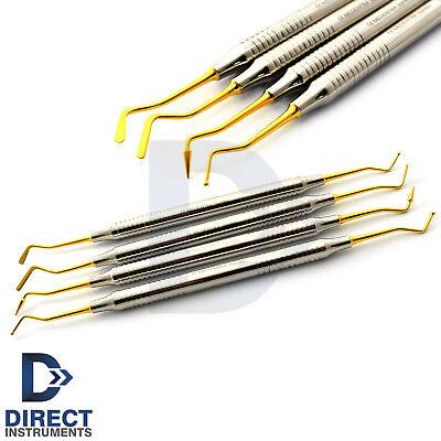Dental Light Weight Titanium Coated Restorative Composite Filling Instruments Ce