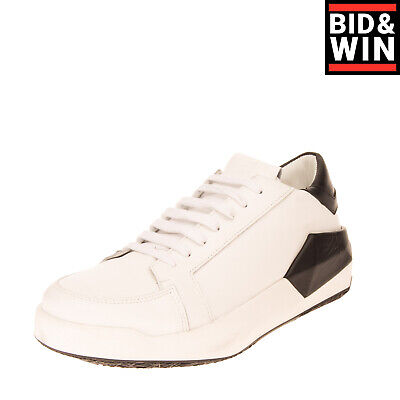 RRP €520 CINZIA ARAIA Leather Sneakers EU 42 UK 9 US 12 Thick Sole Made in Italy
