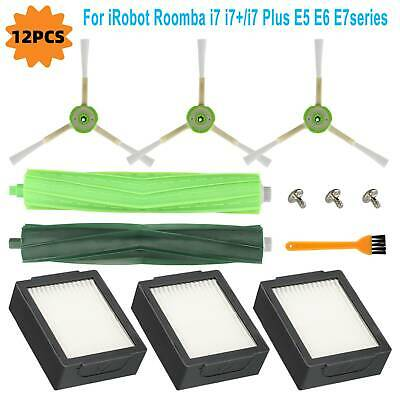 Vacuum Cleaner Replacement Parts Kit for iRobot Roomba Series I7 I7+ E5 E6 E7 US