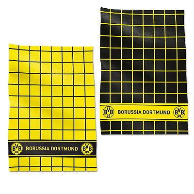 BVB Borussia Dortmund Geschirr-Handtuch Emblem 2er-Set NEU