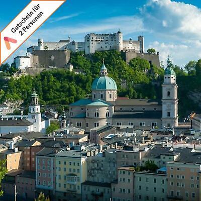 Kurzurlaub Mozartstadt Salzburg 4 Tage für 2 Personen Design Bio Hotel Gutschein