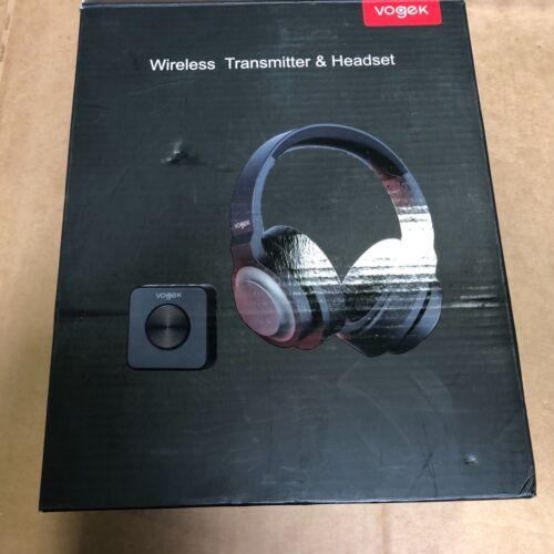 Wireless TV Headphones, Vogek Bluetooth TV Headset with Bluetooth Transmitter!~!