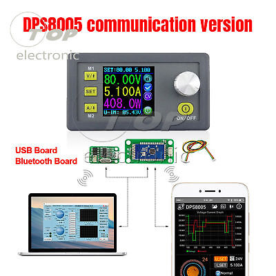 Dps8005 Programmable Constant Voltage Current Step-down Power Supply 80v 5a