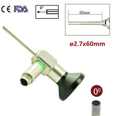 Cefda 2.7x60mm Ent Rigid Endoscope 0 Otoscope Fit Storz Stryker Olympus Wolf