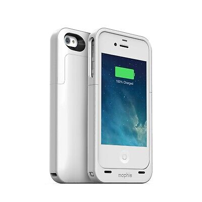 Mophie Juice Pack Air Battery Case for Apple iPhone 4 S 4S White 1140mAh Mophie Juice Pack Air