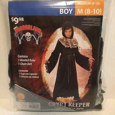 Rubies Horrorland Crypt Keeper Boys Medium Youth Robe Belt Costume - Crypt Keeper Costume