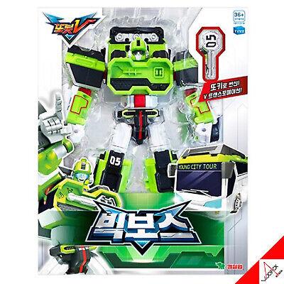 TOBOT V BIG BOSS Bus Car Vehicle Tokey Transformer Robot Action Toy Season3 2021