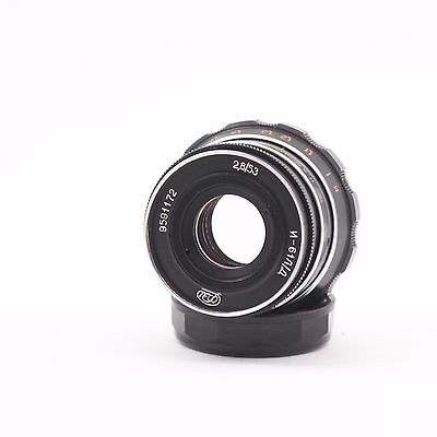 Объективы Industar 61 l/d f2.8/53mm M39/L39