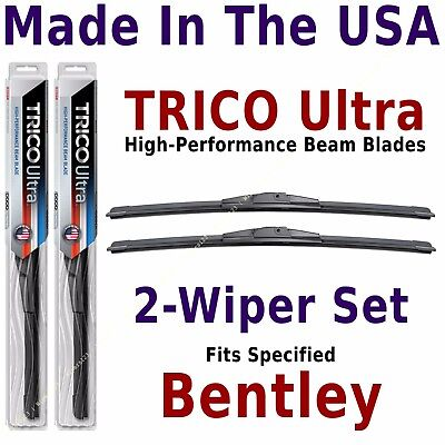 Buy American: TRICO Ultra 2-Wiper Blade Set: fits listed Bentley: 13-22-22
