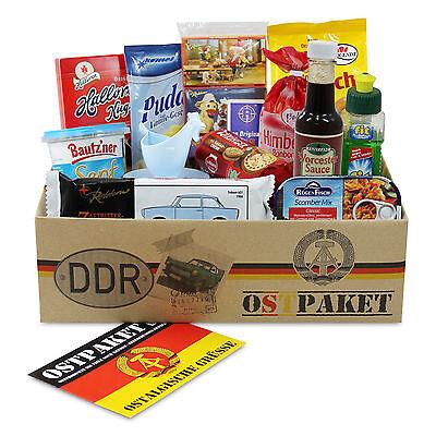 """Ostpaket """"Mini"""" mit 14 typischen Produkten der DDR Geschenkidee Geschenkset"""
