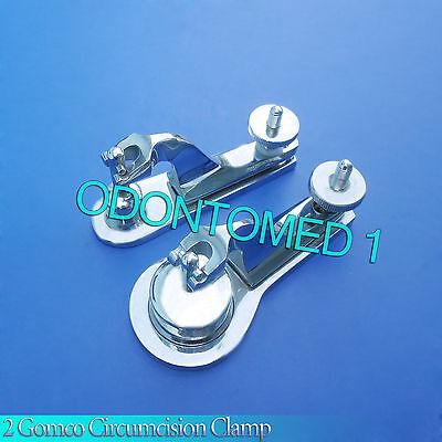 2 Pcs Gomco Circumcision Clamp 1.5cm 3.5cm Surgical Instruments
