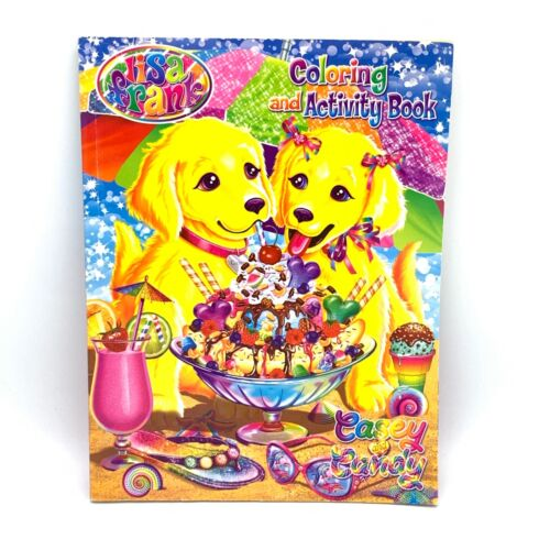 Lisa Frank Coloring and Activity Book Casey & Candy