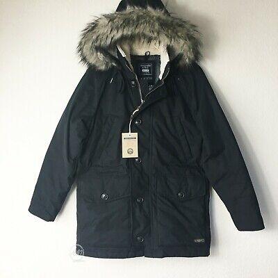 NWT Abercrombie & Fitch Men's Utra Paka Jackets Black Size S, M, L, XL