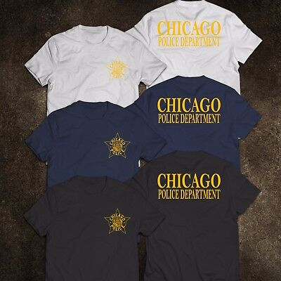 New Chicago Police Department United States Tee T Shirt S 3Xl