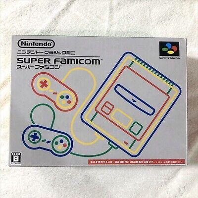 Nintendo Classico Mini Super Famicom Grigio Console Snes Sfc Usato Testato Boxed