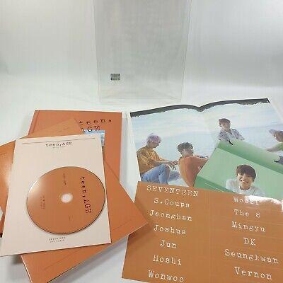 SEVENTEEN 2nd album Teen,age Orange ver. CD Photo Book [NO photocard] Wonwoo