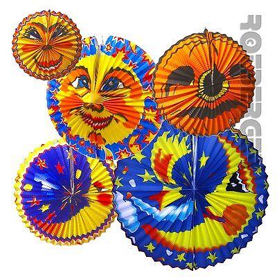 Laterne Mond Sonne Kürbis Motive 26 - 58 cm Papier Lampion Halloween