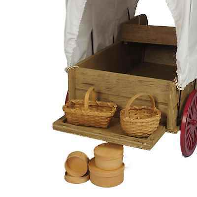 """Little House on the Prairie® 18"""" Doll Shaker Boxes & Baskets Fits American Girl"""