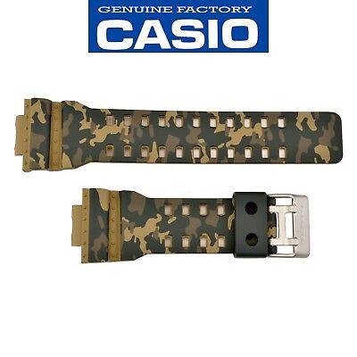 CASIO G-SHOCK Watch Band Strap GA-100CM-5A GD-120CM-5 Camouflage Original Rubber comprar usado  Enviando para Brazil