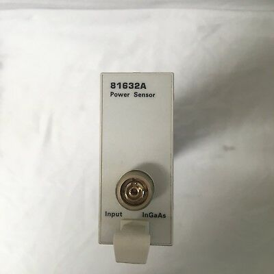 Agilent81632a Optical Power Sensor Module