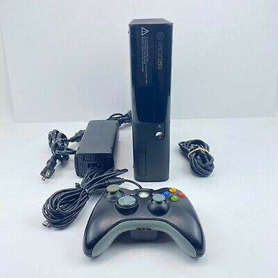 XBox 360 E Console Model 1538 Tested Working Game System 4gb Fast Free Shipping