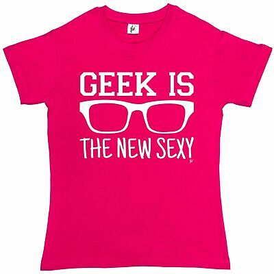 Brill Hipster - Geek Is The New Sexy Womens Boyfriend Fit T-Shirt