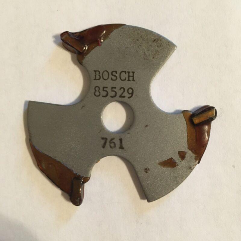 """Bosch 85529MC 1/8"""" Kerf 3 Wing Slotting Cutter Router Bit"""