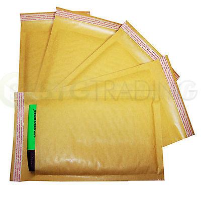 Gold Padded Bubble Envelopes A6 Floppy Disks 115x195mm STG 2 - 200 Envelopes