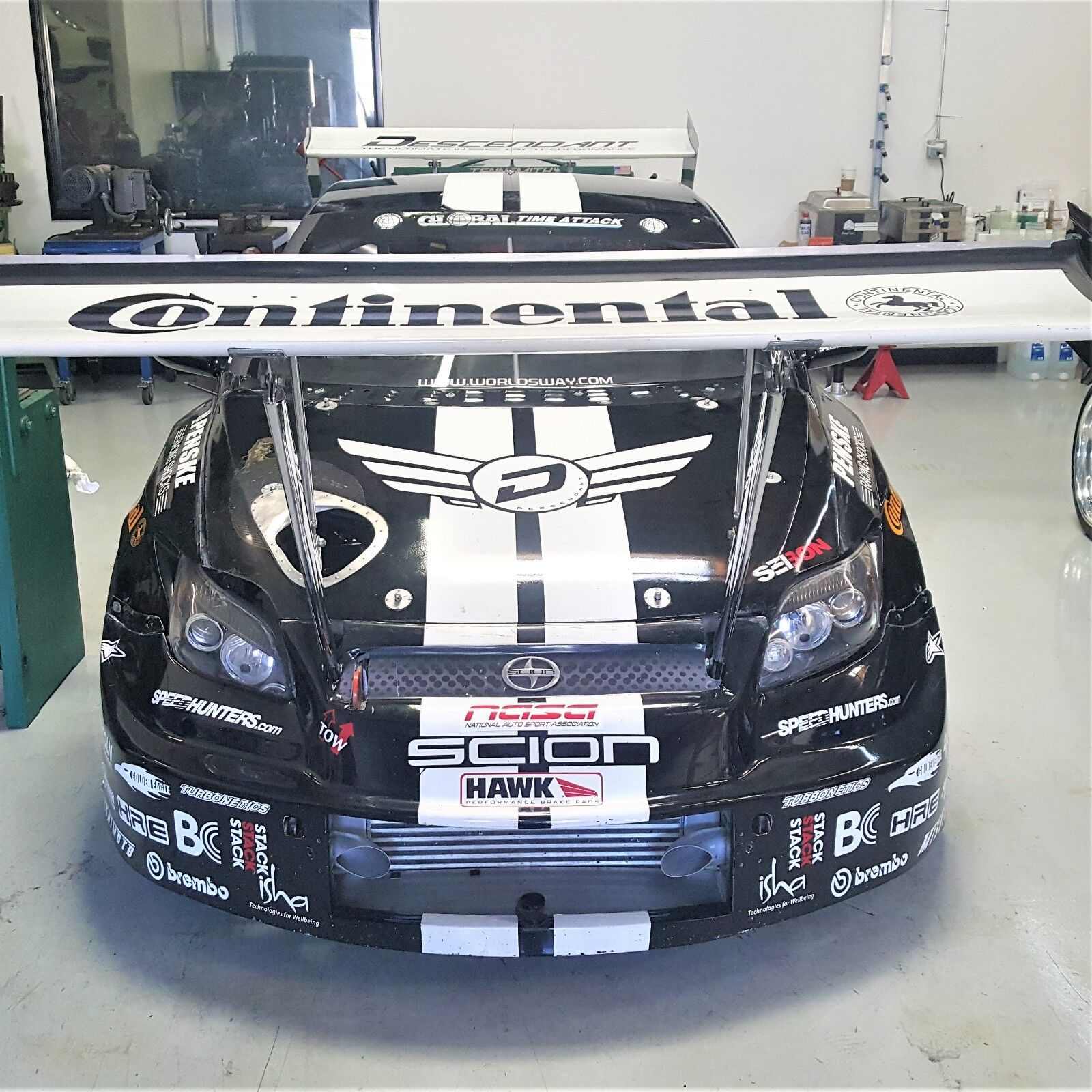 Time Attack Scion tC Race Car Roller includes Brembo Penske Motec HRE Tilton