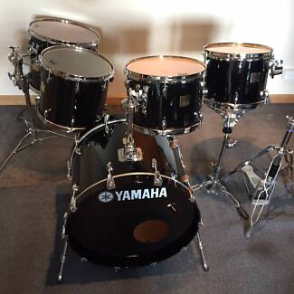 Yamaha Maple and Birch Custom Absolute Drums - Price Reduction Essendon Moonee Valley Preview