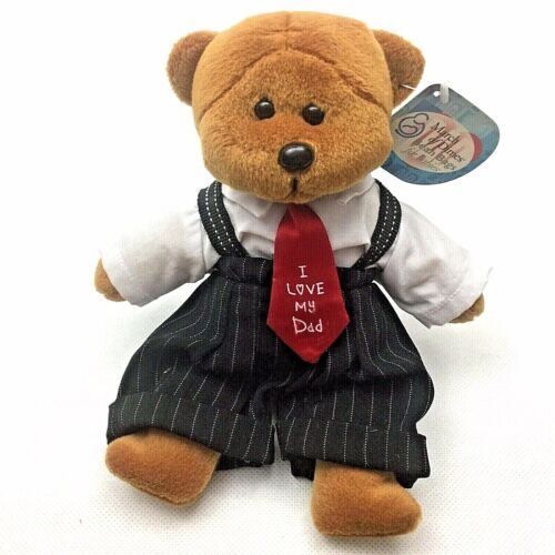 Plush I Love My Dad Teddy Bear  Free Shipping