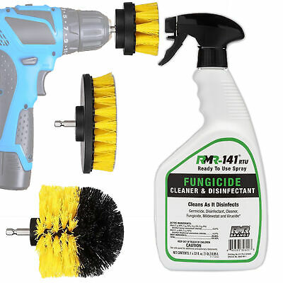 Mold And Mildew Remover Kit: RMR-141 Spray Black Mold and Mildew Stain - Mold And Mildew Cleaner