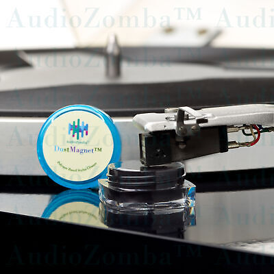 STYLUS CLEANER - THE REVOLUTIONARY DUSTMAGNET™ RECHARGEABLE POLYMER AUDIOPHILE