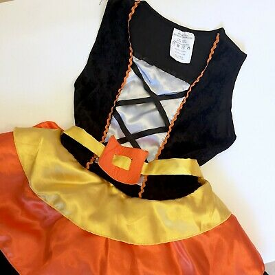 loween Witch Costume Size Large (Halloween Candy Corn Kostüm)