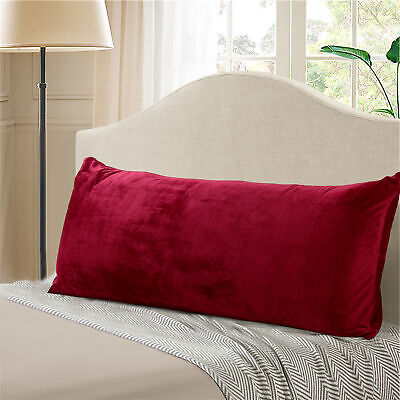 """Evolive Micromink Body Pillow Cover 21""""x54"""" with Zipper Clos"""