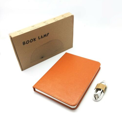 5 Color USB Rechargeable LED Folding Book Light Nightlight Desk Night Lamp Gift
