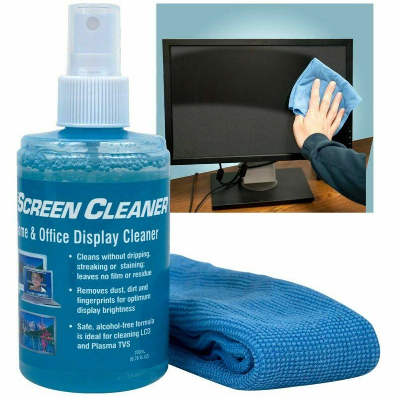 Best LCD Display Screen Cleaner TVs Computers Smart Phones No Streak Cloth