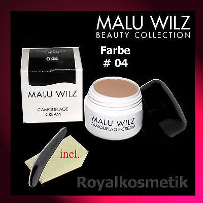 MALU WILZ Camouflage Cream Nr. 04 (4) 6g  ( GP: 208,33 € / 100g )