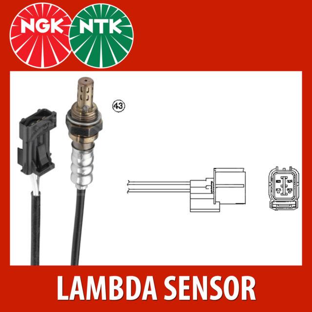 NTK Lambda Sensor / O2 Sensor (NGK1593) - OZA333-H8