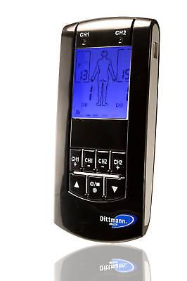 Dittmann TEN 240 - digitales TENS-Gerät zur Schmerz-Behandlung