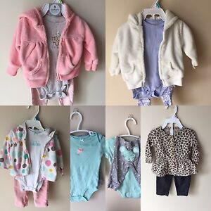 5 complete Carter's outfits (6 month)