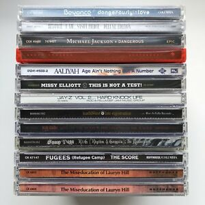 Rap, Hip Hop, R&B & Pop Various CDs