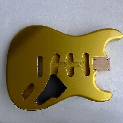 Amazing Value unfinished Poplar Strat style body 100/% UK Made PAINT GRADE